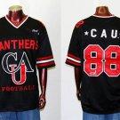 Clark Atlanta Mens Football Jersey Mens short sleeve football jersey S-4X