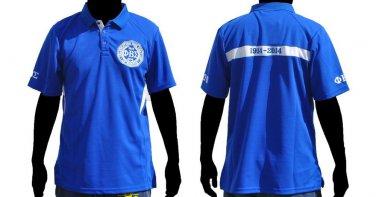PHI BETA SIGMA 100 Year Centennial blue short sleeve polo Phi Beta Sigma M-4X