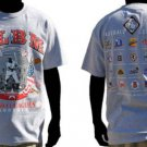 Negro League Baseball T shirt Gray Negro League short sleeve T shirt M-5X