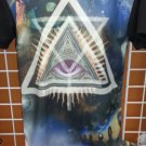 All seeing Eye 3 degree short sleeve T-SHIRT Sublimation print T shirt S-2X