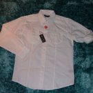 Mens white long sleeve button up shirt by Revolve white long sleeve shirt Medium