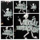 SOCIAL DISTORTION Black short sleeve T shirt short sleeve rock band Tee S-XL