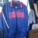 CHIVAS GUADALAJARA blue long sleeve Track Jacket Chivas  track jacket L-2X