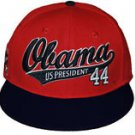 President Barack Obama Red Blue baseball cap hat 44th President Baseball Cap #4