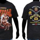 Buffalo soilder T shirt Buffalo Soilder Black short sleeve T shirt L-4XL