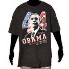 President Barack Obama 44th President Black short sleeve T shirt Tee S-4X