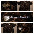 UFC MMA ELITE Ultimate Fighting Men's Army Green Camouflage Long Sleeve T-Shirt