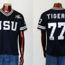 Womens Jackson State Female Football Jersey Rhinestone Lady's Football Jersey