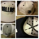 New Era 59FIFTY NBA Dallas Mavericks white blue gray fitted cap hat 7 3/8 NWT