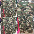 PRO CLUB ARMY GREEN Camouflage Long sleeve Thermal T shirt Camouflage Tee S-7XL