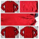 Akademiks Red casual sweater Mens Heavy weight pullover sweat shirt L-2X