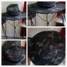 ARMY GREEN CAMOUFLAGE FISHING HAT CASUAL BUCKET HAT FRATERNITY SAFARI CAP HAT M