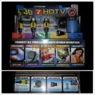 HDTV KIT BLUE RAY CABLE BOX 3D GAMING AUDIO EXTREME HDTV 7 PIECE HOOK UP KIT NEW