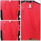 RED SHORT SLEEVE FITTED T SHIRT PRO CLUB FITTED CREW NECK T SHIRT 6 PACK