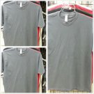 GRAY PRO CLUB FITTED CREW NECK  SHORT SLEEVE  T SHIRT MENS FITTED T SHIRT 6 PACK