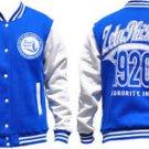 Zeta Phi Beta fleece Jacket Zeta Phi Beta Varsity Baseball Jacket S-4X #2