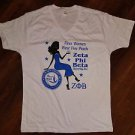 ZETA PHI BETA SORORITY SHORT SLEEVE T SHIRT ZETA PHI BETA V-NECK T-SHIRT S-3X #7