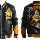 FREEMASON MASONIC MASON JACKET COAT MASONIC POLYURETHANE FRATERNITY JACKET M-5X