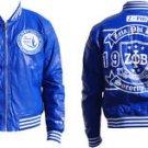 ZETA PHI BETA SORORITY Jacket Polyurethane Leather Sorority Jacket Devine 9 S-4X