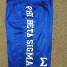PHI BETA SIGMA Fraternity Basketball Shorts Greek Gym Casual Shorts M-4X #1