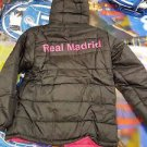 Real Madrid C.F. Bubble Hoodie Jacket Long Sleeve Puffer Jacket  Soccer S-XL