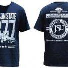 Jackson State University Short sleeve T shirt JSU TIGERS HBCU T-shirt M-4X