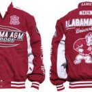 Alabama A&M University Race Jacket HBCU Bulldogs Twill Jacket Race Coat M-4X