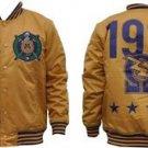 Omega Psi Phi Fraternity Light Weight Letterman Jacket  Varsity Jacket M-5X GD