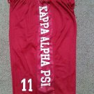 KAPPA ALPHA PSI Fraternity Basketball Shorts Greek Gym Casual Shorts M-4X #1