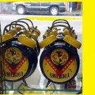 Bell Alarm Clock Club Print Official Chivas USA Logo Soccer Alarm Clock