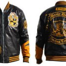 ALPHA PHI ALPHA Fraternity Jacket Polyurethane Leather Fraternity Jacket M-5X