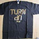 Turn Up Short sleeve T- shirt Black short sleeve TURN UP T-shirt Turn Up 2X