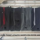 White sports shorts Mens Lightweight Gym soccer basketball sports Shorts S-XL #6