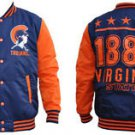 Virginia State University Light Weight Jacket Mens Letterman Varsity Jacket