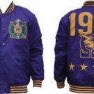 Omega Psi Phi Fraternity Light Weight Letterman Jacket  Varsity Jacket M-5X