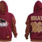 Shaw University Pullover Hoodie Jacket Fleece Hoody M-4XL