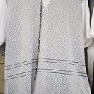 White Mesh crew neck Jersey Mesh T-shirt Gym Casual Fashion Jersey T-shirt M-2X