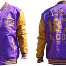Alcorn State University Light Weight Letterman Jacket  Varsity Jacket M-4X