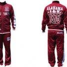Alabama A&M Jogging Suit warm up set pants HBCU Jogging suit Warm up set M-4X
