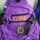 Omega Psi Phi Sling Backpack Bag Divine 9 Fraternity Sling Bag Shoulder strap