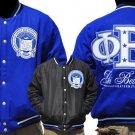 Phi Beta Sigma Fraternity Jacket Phi Beta Sigma Blue Wool Reversible Jacket