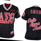 Delta Diva DST Delta Sigma Theta Football Jersey Sorority Black Jersey