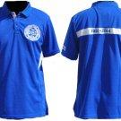 PHI BETA SIGMA Fraternity Polo Short Sleeve Polo Shirt Blue 100 Year Centennial