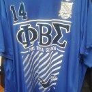 PHI BETA SIGMA FRATERNITY T-SHIRT  Phi Beta Sigma Fraternity Blue T-Shirt 1914