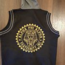 Alpha Phi Alpha Fraternity Sleeveless Hoodie Jacket 1906 ICE COLD VARSITY COAT