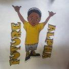 Future Alpha Phi Alpha T-shirt Kids Future  Alpha White Short Sleeve Tee