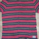 Dark Salomon Black Yellow short sleeve Henley T-SHIRT Stripe t-shirt XL