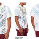 African Dashiki WHITE AFRICAN PRINT DASHIKI T-SHIRTS BLACK PANTHER AFRICA TEE
