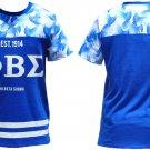 PHI BETA SIGMA short sleeve T-SHIRT Sublimation Greek Fraternity T-shirt GOMAB