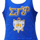 SIGMA GAMMA RHO SORORITY  TANK TOP T-SHIRT BLING S-GRHO POODLE 1922 TANK TOP